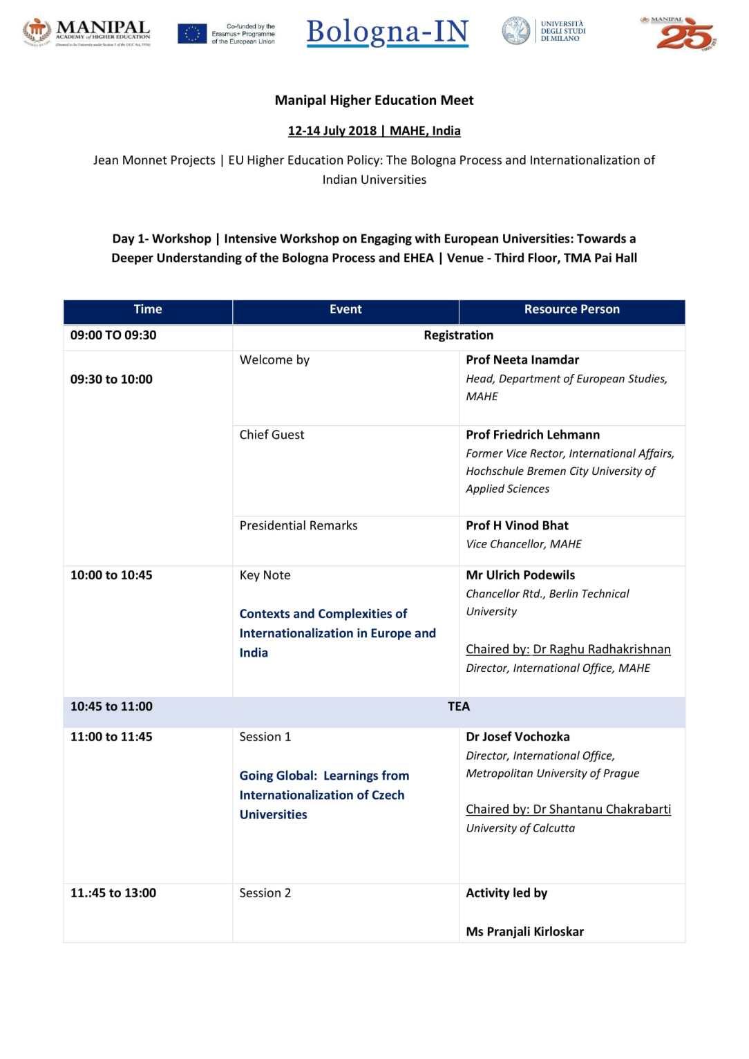 MHEM- Program Schedule-1